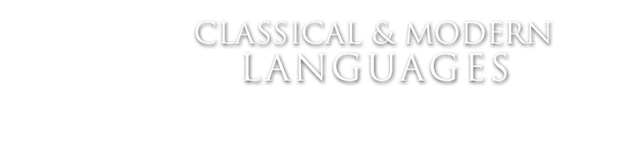Classical and Modern Languages